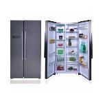 Refrigérateur MonBlanc 520L Side By Side Inox RSM600X