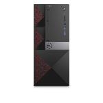 DELL Vostro 3668 DDR4-SDRAM i5-7400 Mini Tower Intel® Core™ i5 de 7e génération 4 Go 1000 Go Disque dur Windows 10 Pro PC Noir, Rouge