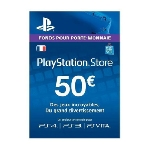 Play Station 4 Sony PS4 Carte PS Store 50