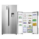 Réfrigérateur SIDE BY SIDE HiSenSe 516L NOFROST -SILVER (RC-67WSB)