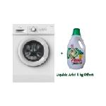 Machine à laver Automatique MIDEA 5 Kg (MFE50-S802W) - Blanc