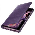 Étui LED View pour Samsung Galaxy Note 9 / Violet