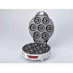 Ariete 189 Machine à fabriquer des donuts/cookies 7 Donuts Rouge, Blanc