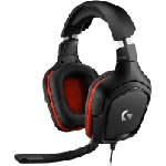 Casque Micro Gaming Logitech G332 / Noir & Rouge