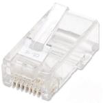 Intellinet 502399 connecteur de fils RJ-45 Transparent