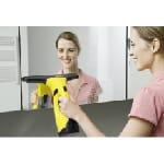 Kärcher WV 2 laveur de vitres électriques 0,1 L Noir, Jaune