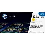 HP 124A Cartouche de toner 1 pièce(s) Original Jaune