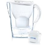 Brita Marella Filtre à eau pour carafe 2,4 L Blanc
