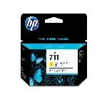 HP 711 cartouche d'encre 3 pièce(s) Original Jaune
