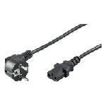 Manhattan 300148 câble électrique Noir 1,8 m CEE7/4 Coupleur C13
