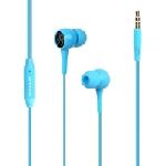 Écouteurs stéréo avec micro Promate Bent - Bleu