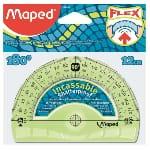 Maped Flex rapporteur Plastique Demi-cercle