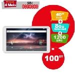 """Tablette LOGICOM TAB72 7"""" WIFI Blanc (LOG-TAB72)"""