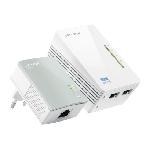 TP-LINK TL-WPA4220 KIT Adaptateur réseau CPL 300 Mbit/s Ethernet/LAN Wifi Blanc 1 pièce(s)