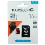 Team Group microSDHC 16GB mémoire flash 16 Go Classe 10