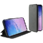 Etui Flip Cover avec support Ksix Folio Lite pour Galaxy S10 - Noir