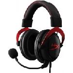 Casque Gaming HyperX Cloud II Rouge – KHX-HSCP-RD