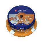 Verbatim 43538 DVD vierge 4,7 Go DVD-R 25 pièce(s)