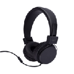 AVO+ Stereo On-Ear Headphones with mic black