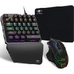 Ensemble Pack Gaming XPERT-G700 : Clavier mécanique + Souris + Tapis