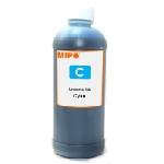 Bouteille d'encre Adaptable Mipo 500 ml / Cyan