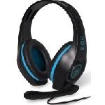 Spirit of Gamer PRO-H5 Casque Arceau Noir, Bleu