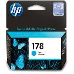 Cartouche jet d'encre HP original CB318HE pour HP 178 - Cyan