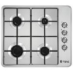 Plaque de cuisson Franco 4 feux 60 cm - Inox (60340i)
