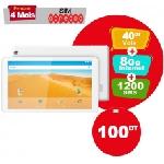 """Tablette LOGICOM 105 10"""" WIFI - Blanc (LOG-TAB-105)"""