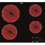Whirlpool AKT 8090/NE plaque Noir Intégré (placement) Céramique 4 zone(s)