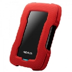 "Disque Dur Externe Anti-Choc ADATA HD330 1To 2.5"" USB 3.1 - Rouge"