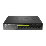Switches DLINK 8ports 10/100/1000 DGS-1008P