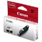 Cartouche Jet d'encre Canon CLI-451 - Noir (CLI-451BK)