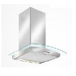 Hotte cheminée SEG 90cm - Inox & curved glass (LD22ECO/90)