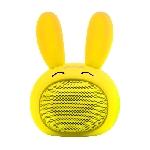 Mini Haut-parleur Bluetooth Promate Bunny / Jaune