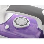 Tristar ST-8234 fer à repasser Fer à repasser à sec ou à vapeur Semelle en acier inoxydable 2600 W Violet, Blanc