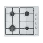 Plaque de cuisson électrique Candy  4 Feux (CLG64PB) - Blanc