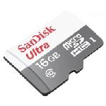 SanDisk Ultra MicroSDHC 16GB UHS-I mémoire flash 16 Go Classe 10
