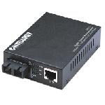 Intellinet 506533 convertisseur de support réseau 1000 Mbit/s 850 nm Multimode Noir