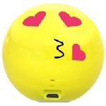 Mini Haut-parleur Bluetooth Promate Romanji Cool Emoji