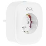 Ksix BXWSP1 Prise intelligente Blanc