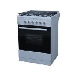 Cuisinière à gaz 4 feux SEG 60 cm - Blanc