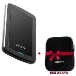 Disque Dur Externe ADATA HV300 1To USB 3.1 Noir + Etui ADATA