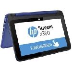 Pc Portable HP STREAM X360 11-y001nk Dual Core 2Go 32Go Bleu