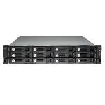 QNAP UX-1200U-RP boîtier de disques Rack (2 U) Noir