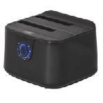 ADVANCE BX-3003U32 Station d'accueil de disques de stockage USB 2.0 Type-B Noir