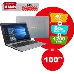 PC Portable ASUS VivoBook 15 X540UA i3 6è Gén 12Go 1To Silver (X540UA-GQ3060T-12G)