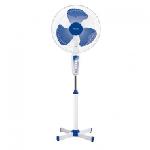 """Ventilateur sur pied NewStar 3 vitesses 16""""- Blanc et Bleu (FS1605/16)"""