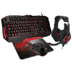 Pack Spirit Of Gamer PRO-MKH3 clavier + souris+ Tapis +casque