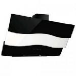 Hotte Cheminée + RC MONTBLANC 60cm Noir/Inox (BLX60)